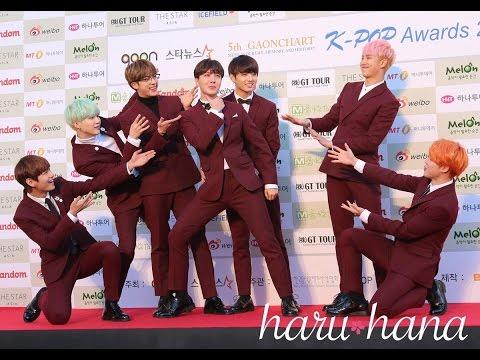 BTS, IKON, EXO, VIXX, SEVENTEEN, SUPER JUNIOR [5th Gaon Red Carpet]