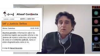 ::Afasaf ConNecta:: TEAF y Justicia - Delitos. Manuel Navarrete 12.03.2021