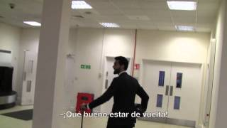 REAL MADRID BEHIND THE SCENES: Arbeloa shows us the secret of Anfield