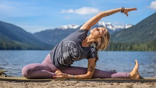 25 Min Total Body Yoga & Tension Release | Yoga Healing From The Inside Out