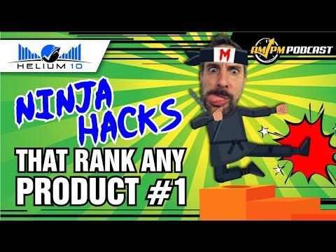 Ninja Hacks That Rank Any Product #1 on Amazon - Revealed by 7-Figure FBA Seller Manny Coats