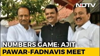 What Devendra Fadnavis And NCP's Ajit Pawar Discussed In Late-Night Meet