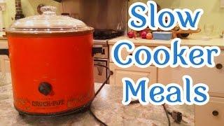 Affordable Slow Cooker Meals