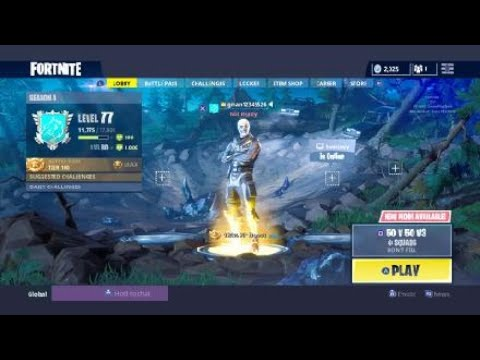 Fortnite skull trooper account for sale with other rare skins, 400+ wins  comment offers