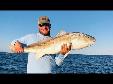 Fishing Shallow Water Wrecks & Structure In The Pamlico Sound For Redfish & Trout