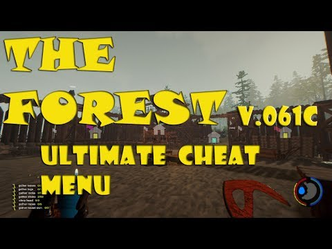 The Forest V0.61C Mod/hack/cheat 1 JUNE 2017 ULTIMATE CHEAT MENU