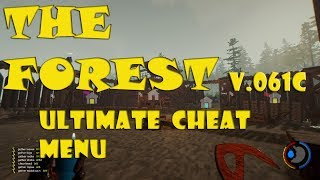 The Forest V0.61C Mod/hack/cheat 1 JUNE 2017 ULTIMATE CHEAT MENU