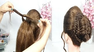 3 easy and cute hairstyle for Girls with Trick   new hairstyle   updo hairstyles   hairstyles