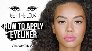 Eyeliner tutorial for beginners | Charlotte Tilbury