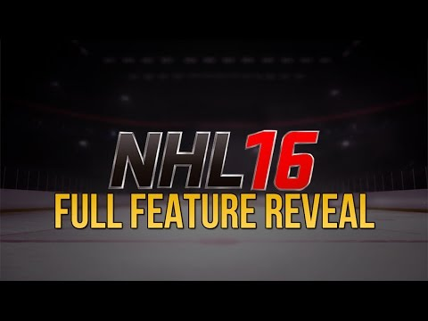 NEW GAME MODES, RELEASE DATE, EASHL, & MORE! | NHL 16 NEWS! FULL FEATURE REVEAL!