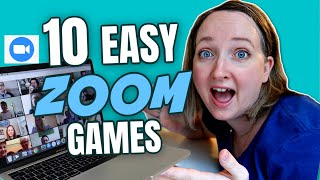 10 Easy Zoom Games To Play With Family and Friends | Virtual Party Games