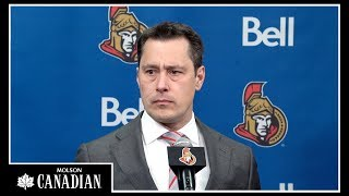Sens Head Coach Guy Boucher shares his thoughts following today's w...
