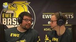 Moin eSports! 1. Live-Stream der EWE Baskets eSports
