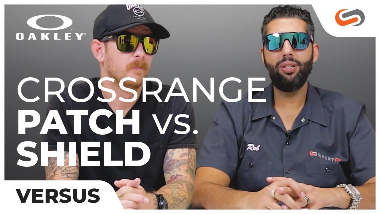 5a1df3b363 Oakley Crossrange Patch VS Crossrange Shield - YouTube