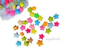 DIY ESTRELLAS INFLADAS - Origami | Decora tu cuarto