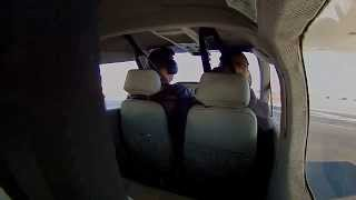 N370S Cessna 177 Cardinal local at KCOS Colorado Springs flight 10 January 2015
