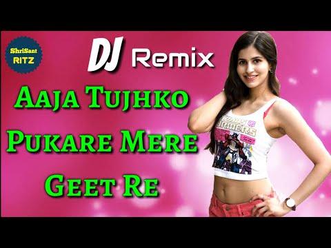 DjRemix | Aaja Tujhko Pukare Mere Geet Re | Old Dj Remix Song | Dholki Mix | ShriSantRitz |