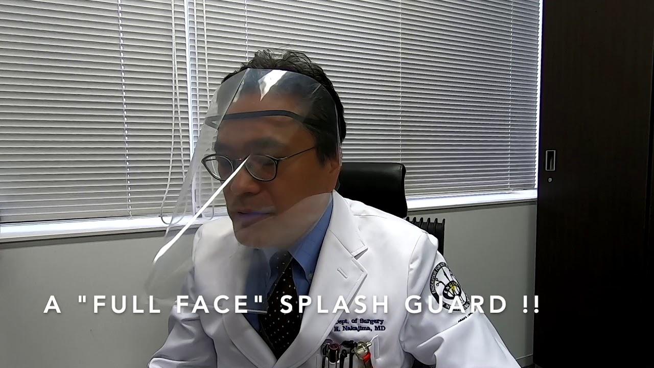 ドクター 中松 フェイス シールド