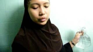 Demo - How to use a sitz bath