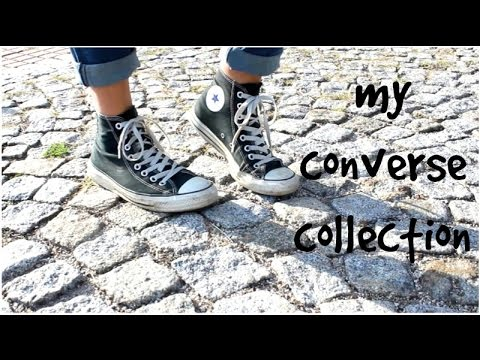 my converse collection