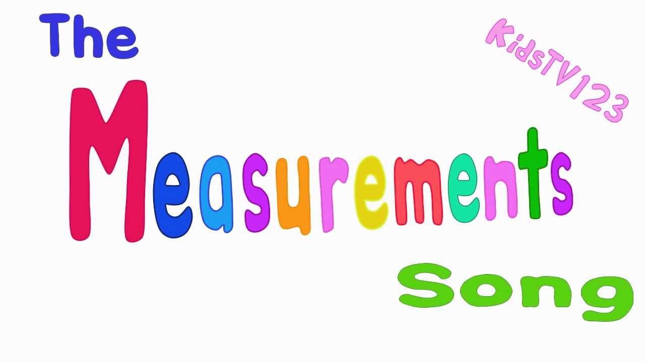 small resolution of The Measurements Song - YouTube
