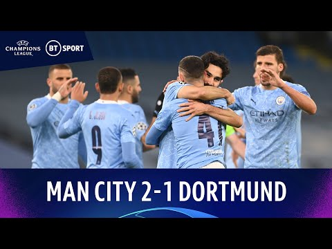 Manchester City v Dortmund (2-1) | Foden Strikes In Stoppage Time! | Champions League Highlights