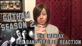 GOTHAM Season 2 - The Maniax Red Band Trailer Reaction