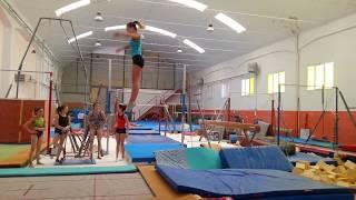 Gli elementi piu difficili al trampolone ginnastica artistica csb