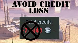 How To Avoid Paying Repair Costs - Training Rooms || World of Tanks Blitz