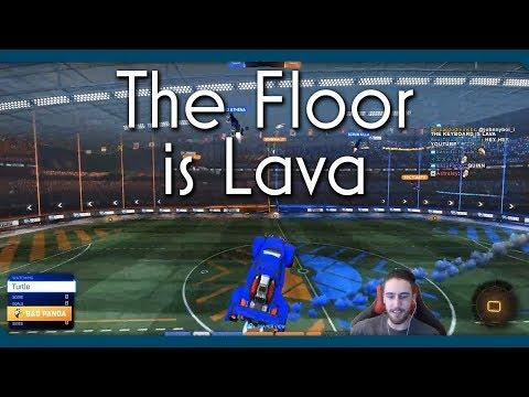 Rocket League   The Floor is Lava!