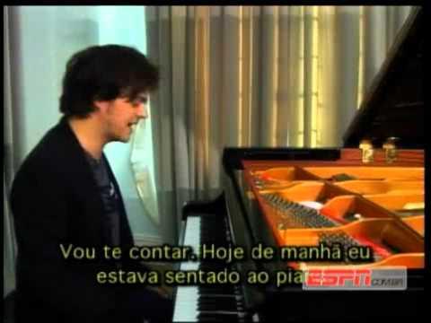Jamie Cullum interview on ESPN Brazil 2011