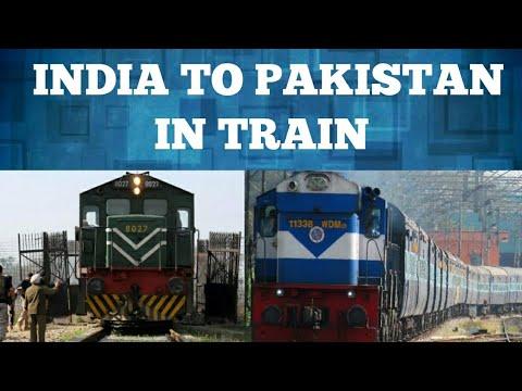 TRAIN FROM INDIA TO PAKISTAN//ATARI LINK EXPRESS + SAMJHAUTA EXPRESS