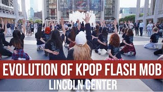 [KPOP IN PUBLIC CHALLENGE] Evolution of Kpop Flash Mob Performance at Lincoln Center