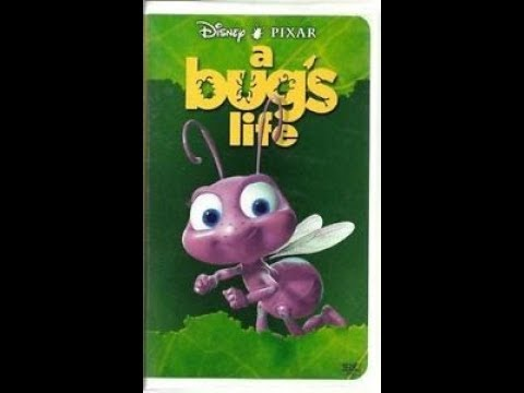 Opening To A Bug S Life 1999 Vhs Hq Youtube