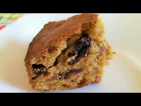 Fruit cake|plum cake|easy fruit cake in malayalam