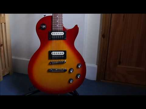 Unboxing Epiphone Les Paul Studio LT and review.