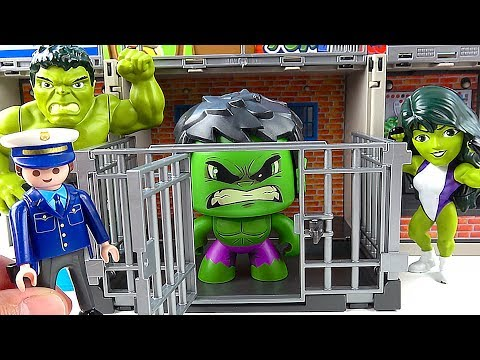 Toy HULK Toys Go To JAIL