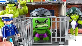 Toy HULK Toys Go to JAIL