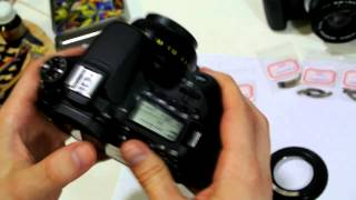 УРОК 1 ПРОГРАММИРОВАНИЕ одуванчика Gfoto X PRO для Canon EOS