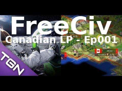 FreeCiv 2.4.0 [SDL Client] Canadian LP - Ep001
