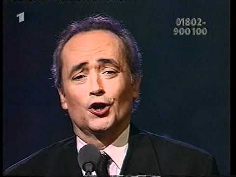 "José Carreras Gala 1998 - ""Serenata"" (Toselli) André Rieu & Josep Carreras"
