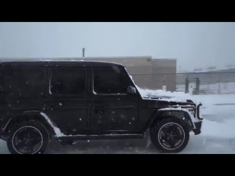 Ceramic Pro New York G63 Winter Protection Video