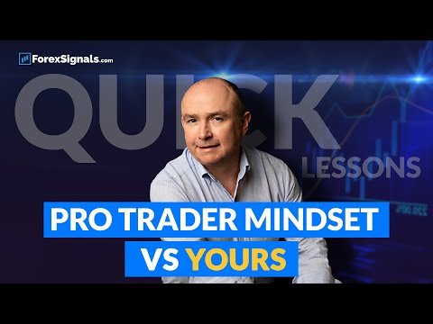 Mindset: Pro Forex Trader vs You. Forex trading lesson