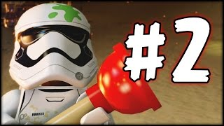 LEGO Star Wars The Force Awakens - Part 2 - Kylo Ren vs. Poe (HD)