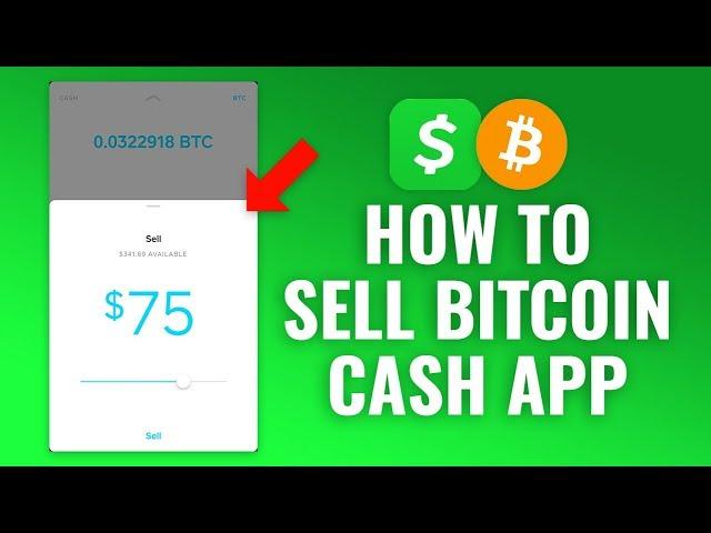 sell bitcoin cash app