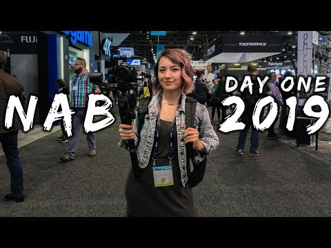NAB 2019 Day 1 - The Madness Begins