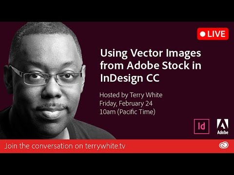How to use Vector Images from Adobe Stock in InDesign CC