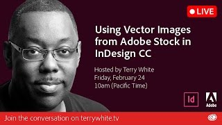 How to use Vector Images from Adobe Stock in InDesign CC | Educational