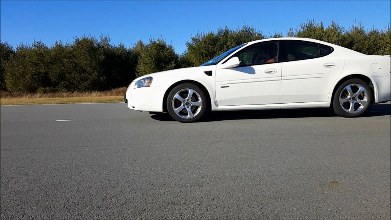 Pontiac grand prix gxp review and test drive the feel of fast