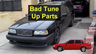 Volvo 850 tune up, spark plug replacement revisited. Bad wires - VOTD